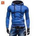 Nova Marca Mens Hoodies E Moletons Sportwear Design Com Zíper Pullover Masculino Moletom Jaqueta Poleron Hombre Tamanho Asiático XXL