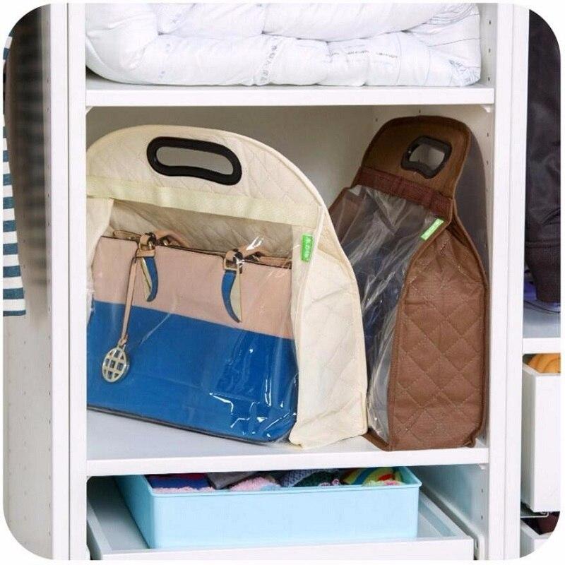 100pcs S M L Keep Clean Handing Storage Dust Cover Bag No-woven Fabric Handbag Closet OrganizerMylar Bags ZA0753