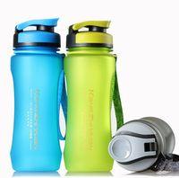 600 ml Sport Shaker Fles Draagbare Plastic Flessen Met Thee Filter Voor Outdoor Fietsen Camping Fiets Wandelen Running