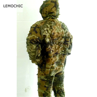 LEMOCHIC airsoft hunting wader paintball tactical desert tropic woodland sniper camo military tactical camouflage ghillie suit