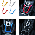 For 2011-2016 PorscheE Cayenne Cockpit console Interior modifications Chrome Trim Decoration Accessories Tricolor