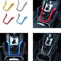 Para 2011-2016 Cayenne PorscheE Cabina consola modificaciones Interiores Cromados Decoración Accesorios Tricolor