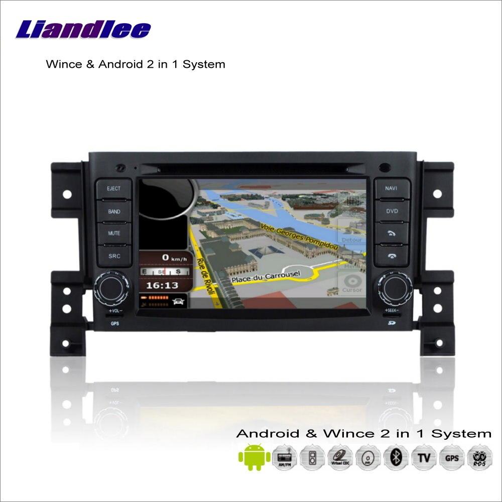 Liandlee voiture Android multimédia stéréo pour Suzuki Vitara/Grand Vitara 2008 ~ 2013 Radio lecteur CD DVD GPS Navigation Audio vidéo