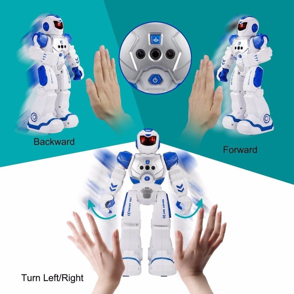 Remote Control Intelligent Robot Gesture Sensing Programming Charging Children Dancing Robot Fighting Defentor Boys Gift Toys intelligent wireless remote control robot dog kids dancing walking dog
