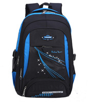2015 News Children School Bags Orthopedic School Backpack For Boys Waterproof School Satchel Kids Schoolbag Bookbag