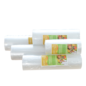 Image 4 - Bolsas de plástico al vacío para el hogar, sellador al vacío para alimentos, 12 + 17 + 20 + 25 + 28cm * 500cm, 5 rollos/lote, rollos de envasado al vacío