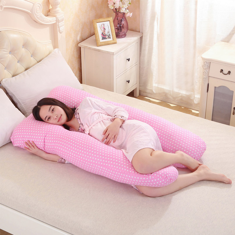 Pregnancy Comfortable U Shape Maternity Pillow 2