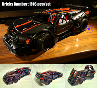 NEW MOC Technic series Assassin X19 model racing car fit legoings technic Racer city car Building Block Bricks Diy Toy gift kid