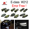 20pc X Error Free Mercedes Benz E Class W212 LED Interior Light Kit Package 2009