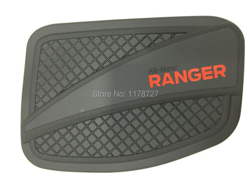 Prix pour Shiping libre 2012-2014 Ranger noir couleur couvercle du réservoir d'huile couvercle du réservoir de gaz ranger accessoires