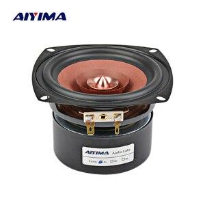 AIYIMA 1 шт. 4-дюймовый аудио звуковой динамик, драйвер Hi-Fi 4 8 Ом 30 Вт, Полнодиапазонный динамик, книжная полка, громкоговоритель для усилителя DIY