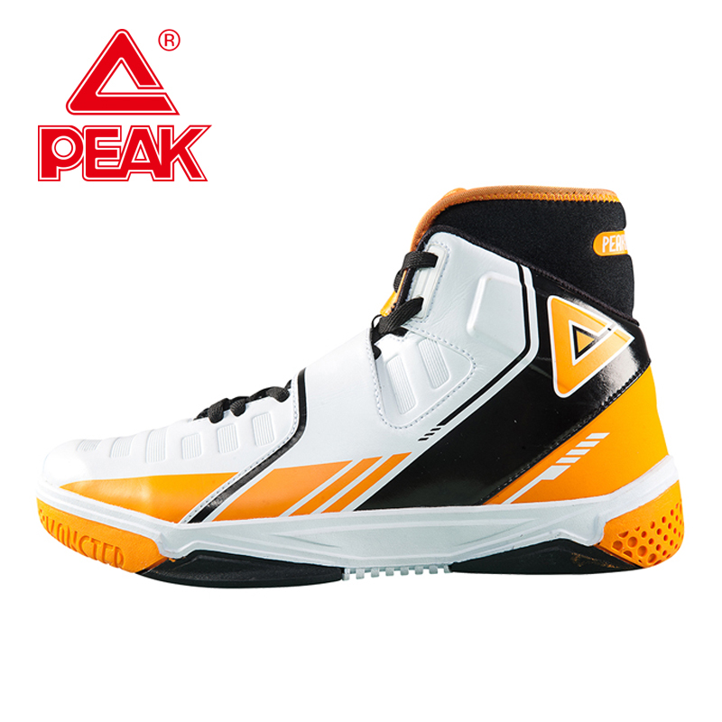 PEAK SPORT Monster 3.3 Men Basketball Shoes FOOTHOLD Tech Breathable Athletic Ankle Boots High-Top Training Sports Sneakers peak sport lightning ii men authent basketball shoes competitions athletic boots foothold cushion 3 tech sneakers eur 40 50