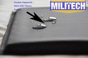 "Image 5 - MILITECH Ballistic Panel BulletProof Plate Side Insert 6"" x 8"" Pair NIJ Level 3A & NIJ 0101.07 Level HG2 Aramid Soft Body Armor"