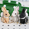 Милые Животные Кролик Брелок Женский Мужской Личности Брелок Сумка Подвеска Брелок Брелок Творческий Подарок Отправить Другу