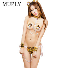 Sexy Lingerie Exotic Apparel Sexy Costumes Sets Cat Cosplay Party Clothes Sexy U