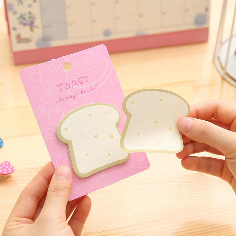 1 piezas GENKKY kawaii nota el huevo desayuno pan sushi pegatinas N Corea lindo los mensajes notas adhesivas