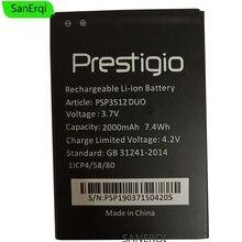 Аккумулятор PSP3512 Duo для мобильного телефона PRESTIGIO PSP3512 DUO Аккумулятор Bateria 2000 мАч