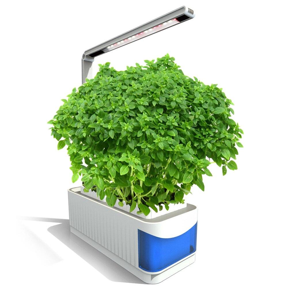 Multifonctionnel LED Élèvent La Lumière AC100-240V Plein Spectre Plante D'intérieur Lampe Pour Plantes Vegs Système Hydroponique Usine Lumière