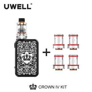 Image 5 - UWELL Crown 4 Kit & Coil Set 5ml Crown 4 Tank 5 200W Crown Box Mod Crown IV Kit Electronic Cigarette Vaporizer
