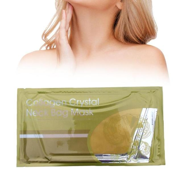 Women Whitening Collagen Neck Mask Beauty Health Protein Moisturzing Personal Skin Care To A Peeling Free Shipping