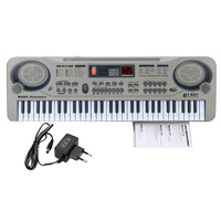 Children 21 Electric Piano LED 61 Keys Music Electronic Keyboard Key Board USB Port MP3 Play