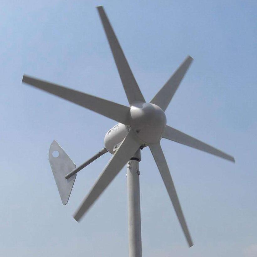 1m/s low wind speed start 400W AC three phase wind turbine generator 6 blades 12V 24V wind generator 400W wind turbine windmill economy 5 blades 1 4m wheel diameter 400w wind turbine generator ac 12v or 24v only 2m s small start wind speed