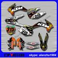 FREE SHIPPING MOTORCYCLE BULL 3M GRAPHICS  BACKGROUND DECALS STICKERS KITS KTM SX SXF 125 150 250 350 450 2013-2014 DIRT BIKE