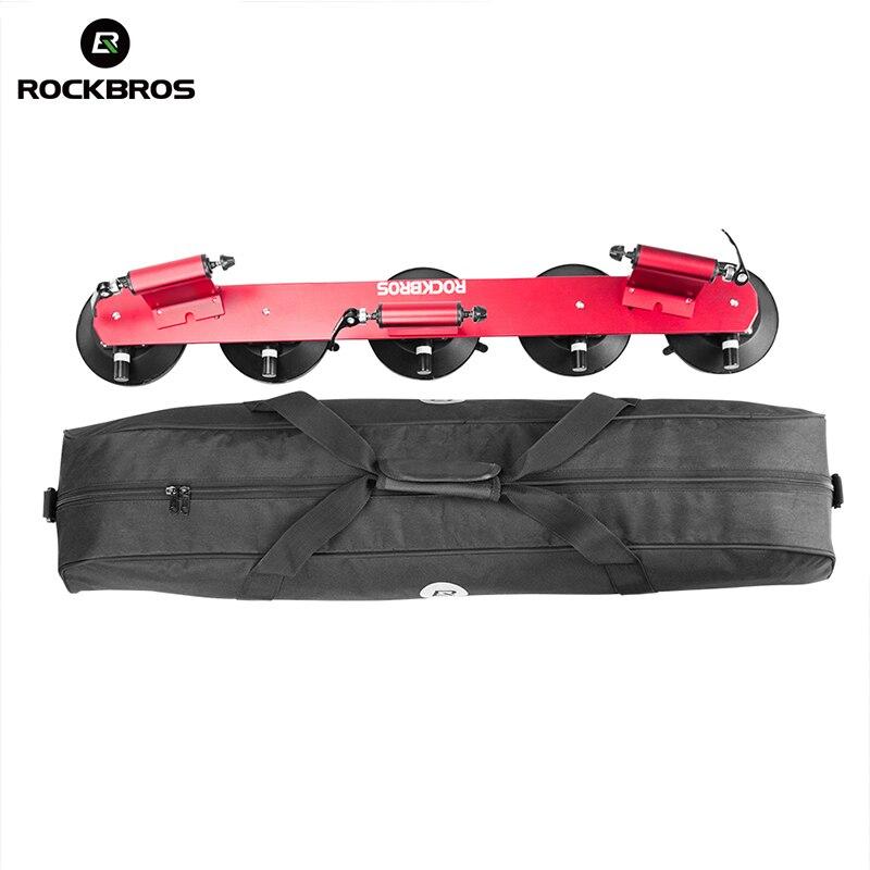 ROCKBROS велосипедная водостойкая сумка для хранения сумки для велосипедной стойки всасывания крыша-верхняя большая емкость 45л ПВХ переносные...