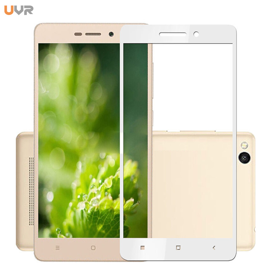 UVR Full Cover Tempered Glass For Xiaomi Redmi 3S 3 S Phone Screen Protector For Xiaomi Redmi 3 Pro Redmi 3S Protective Film