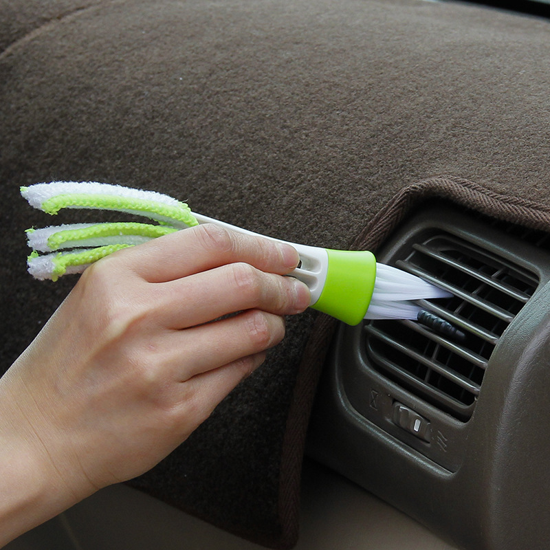 Cars auto air conditioning outlet cleaning brush dashboard - Cleaning supplies for car interior ...