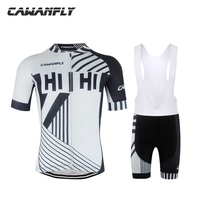 Cawanfly Summer Team Short Sleeves Quick Dry Cycling Set Bike Clothing Ropa Ciclismo Clothing Bib Suits