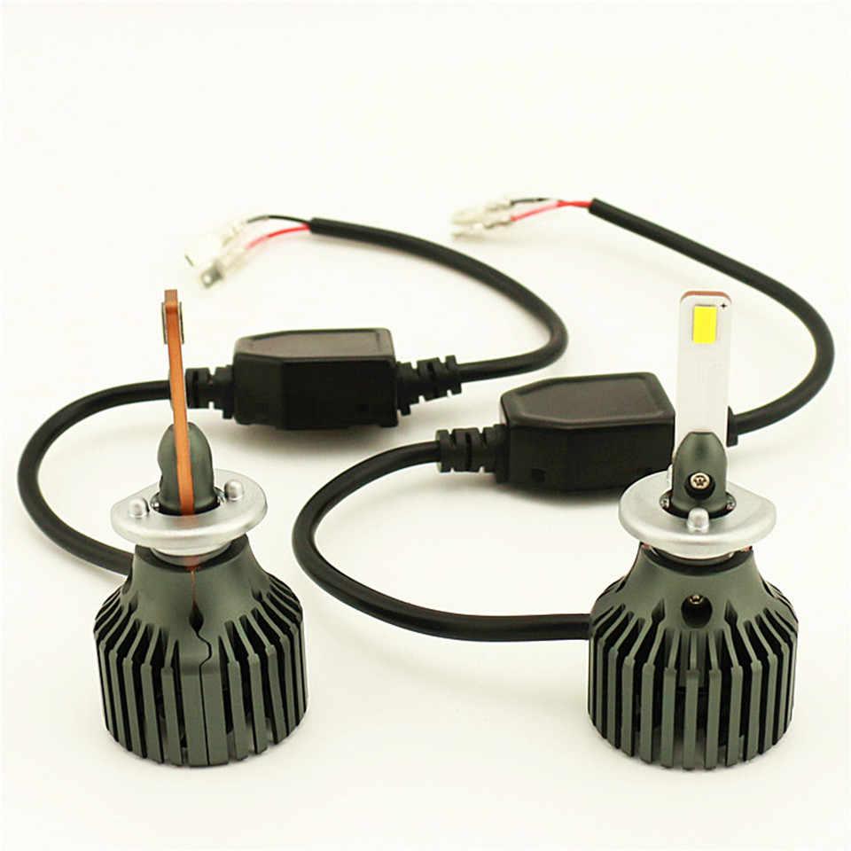 TDCU Мини Автомобильный светодиодный светильник на голову H1 50 Вт 5000лм 6500 К 12 В для