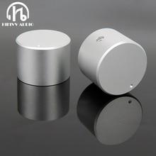 Aluminum Volume knob 1pcs Diameter 30mm Height 22mm amplifier Potentiometer knob