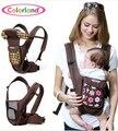 Hot 2016 Nova Respirável Multifuncional Frente Virada Baby Carrier Infantil Confortável Sling Backpack Bolsa Envoltório Do Bebê 0-30 Meses
