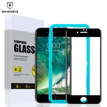 SmartDevil 3D soft edge full coverage tempered glass for iphone X 6 6s 7 8 plus phone screen protector film 9H hard protective