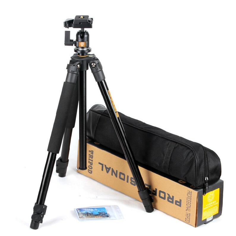 QZSD Portable 4KG bear digital camera tripod aluminium slr video tripodes stand professional para reflex dslr tripod portable free shipping qzsd q999 portable tripod