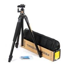 QZSD Portable 4KG bear digital camera tripod aluminium slr video tripodes stand professional para reflex dslr tripod portable