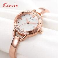 Kimio Luxury Women S Watch Quartz Watch Bracelet Watch Waterproof Stainless Steel Women Watches Fashion Gift