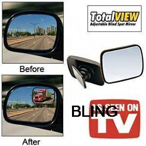 1sets lot New 360 Degree Adjustable Panoramic Blind Spot font b Car b font Rear View