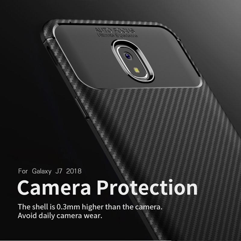 för Samsung J3 J4 2018 Väska IPAKY J6 J7 2018 Väska Silikon TPU - Reservdelar och tillbehör för mobiltelefoner - Foto 2