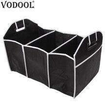VODOOL Складной автомобильный органайзер для багажника складной Мульти-карман игрушки Еда Коробка для хранения инструментов сумка Авто аксессуары грузовой контейнер