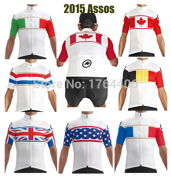 Cheap 2015 Pro Team Ropa Ciclismo MTB Assos Cycling Jersey Short Sleeve  Custom Men Womens Bib Shorts Assos Bike clothing 9d882bf4e