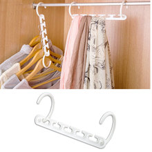 Multifunction 3D Space Saving Hanger Magic Clothes with Hook Organizer