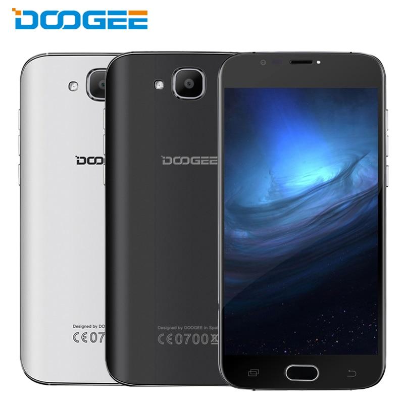 Original DOOGEE X9 mini Cell Phone RAM 1GB ROM 8GB MTK6580A Quad Core 5.0 inch Android 6.0 2000mAh Fingerprint Sensor Smartphone