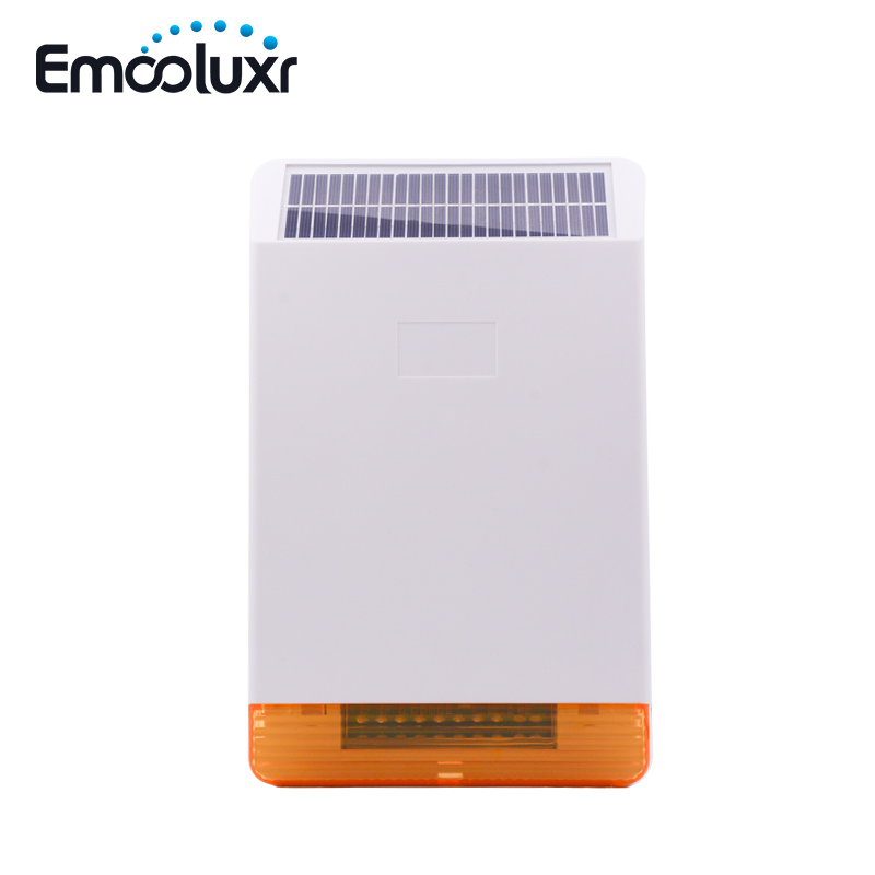 MD-326R 868MHz Solar Outdoor Weather-proof Flash Alarm Siren Strobe Horn for ST-IIIB, ST-VGT, ST-V, Free Shipping new wireless glass break sensor with alarming sounds works with st vgt and st iiib alarm system