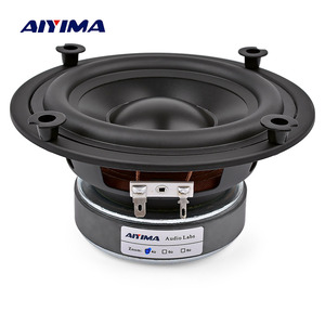 Image 5 - AIYIMA 1Pcs 5.25 Inch Subwoofer Speaker Column 4 8 OHM 50W Sound Speaker Driver Home Theater Car Audio Bass Hifi Woofer Sound
