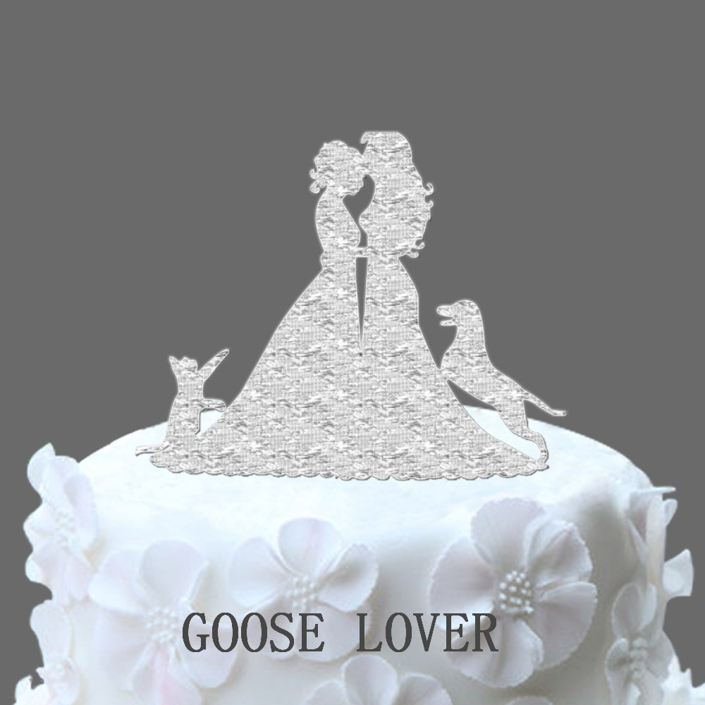 Love Sign Wedding Cake Topper