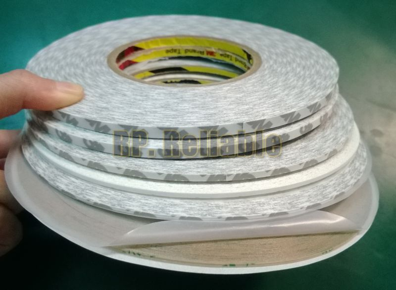 6pcs Mixed Translucent/Clear Cellphone LCD Screen Repair Glue tape, Double Sided Adhesive, 3M 1/1.5/2/3/4/5mm width * 50 Meters 10m super strong waterproof self adhesive double sided foam tape for car trim scotch