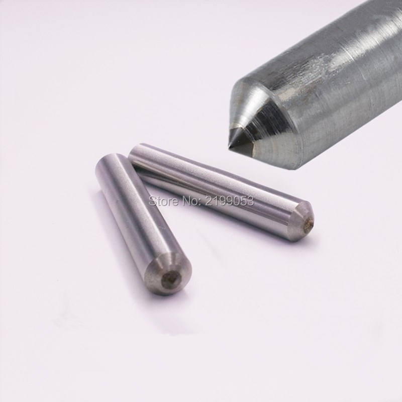 2pcs/lot 6mm Dia 90 Degree Diamond Drag Tip Engraving Point Dremel Engraver Machine Accessories