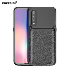 Egeedigi Slim shockproof Battery Charge Case For Xiaomi Mi 9/9 Se Power Case Power Bank high capacity battery Back Cover Case(China)